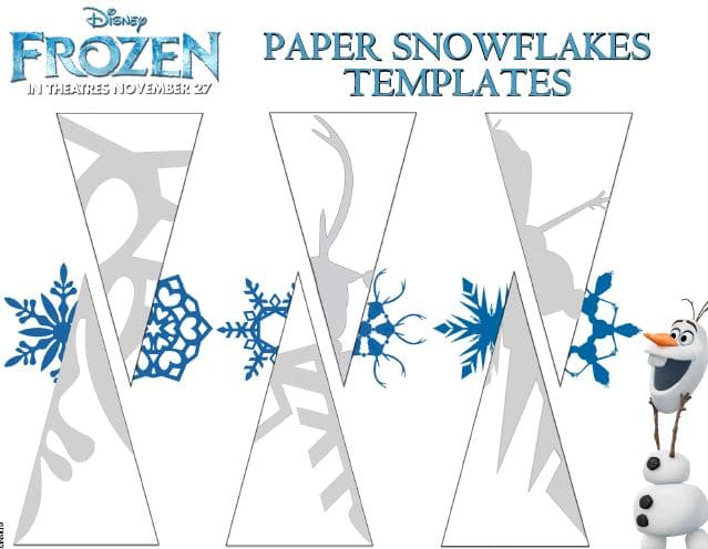 Frozen Snowflake Templates, Coloring Pages & More ...