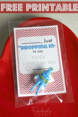 just dropping in paratrooper free printable valentine