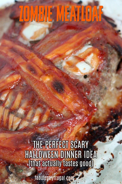 Zombie meatloaf recipe