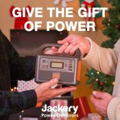 This Jackery Portable Power Station is the Perfect Gift for Anyone!