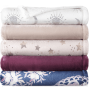 JCPenney Black Friday! Home Expressions Velvet Plush Throw $8.99 (Reg....