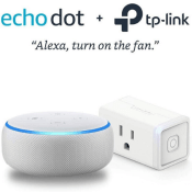 Amazon Black Friday! 4 Colors! Echo Dot 3rd Gen + TP-Link Smart Plug Bundle...