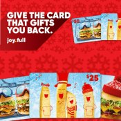 Red Robin: Free $5 Bonus Buck Reward for every $25 Gift Card Purchased