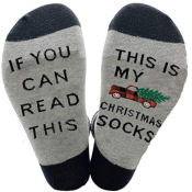 Amazon: Women's Funny Watching Christmas Movies Socks $4.94 After Code...