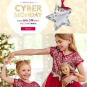 EXTENDED! American Girl Cyber Monday! 20% Off Purchases of $100 Up After...