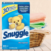 Amazon: 80-Ct Snuggle Fabric Softener Dryer Sheets as low as $2.49 each...