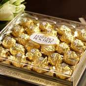 Amazon Holiday Deal! Ferrero Rocher 24-Piece Christmas Candy Gift Box $8.69...