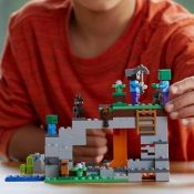 Amazon Cyber Week! LEGO Minecraft The Zombie Cave $15.99 (Reg. $19.99)