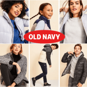 TODAY ONLY! Old Navy Cyber Week! In-store 50% off 1 item AND $10 off your...