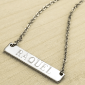 Jane: Personalized Bar Necklace $5.99 (Reg. $59.99) + Free Shipping