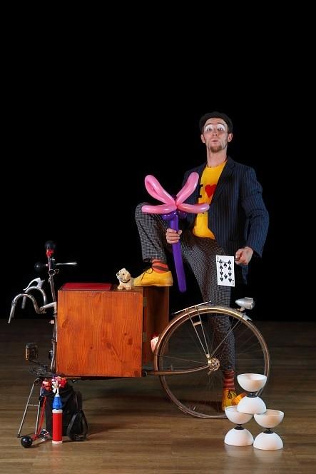 zigor et son vélo déambulation