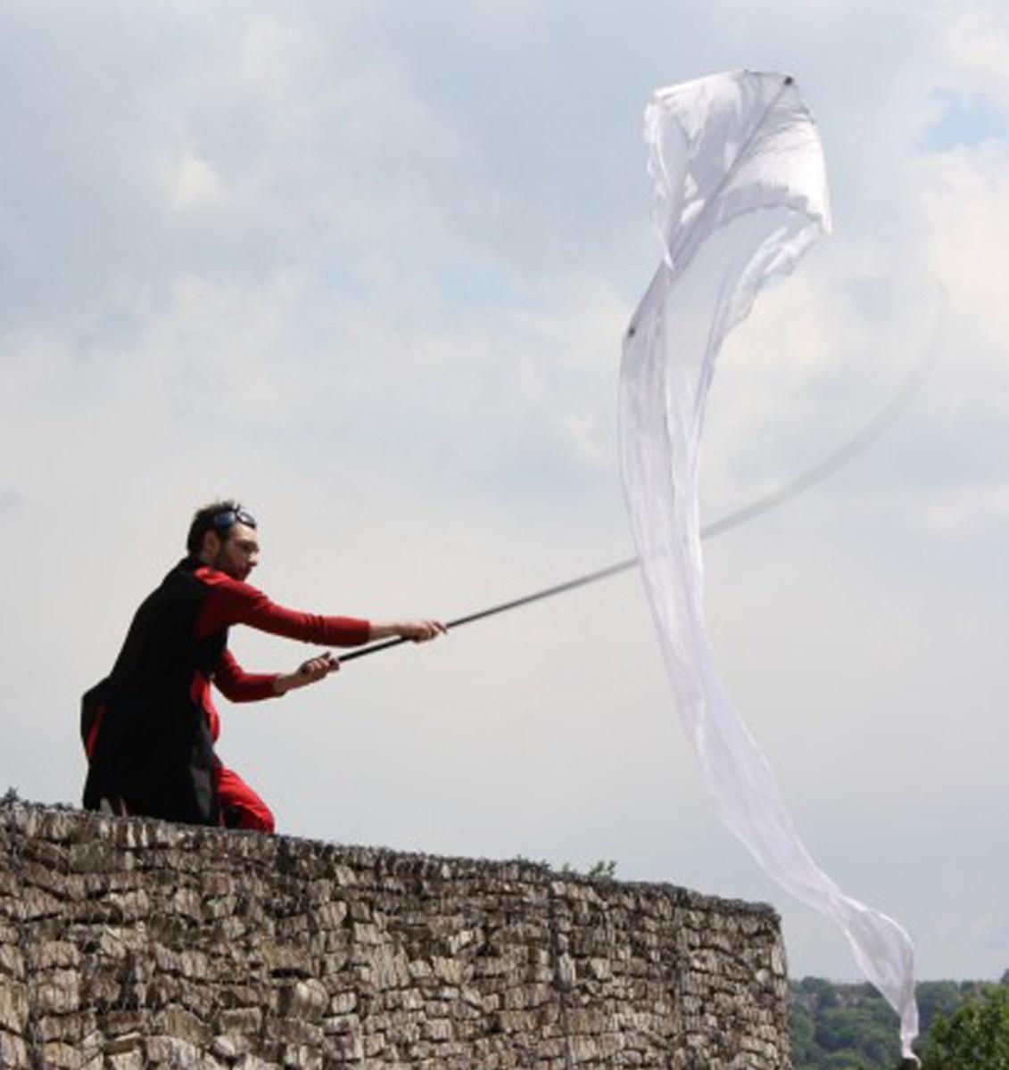 jongleur cerf volant