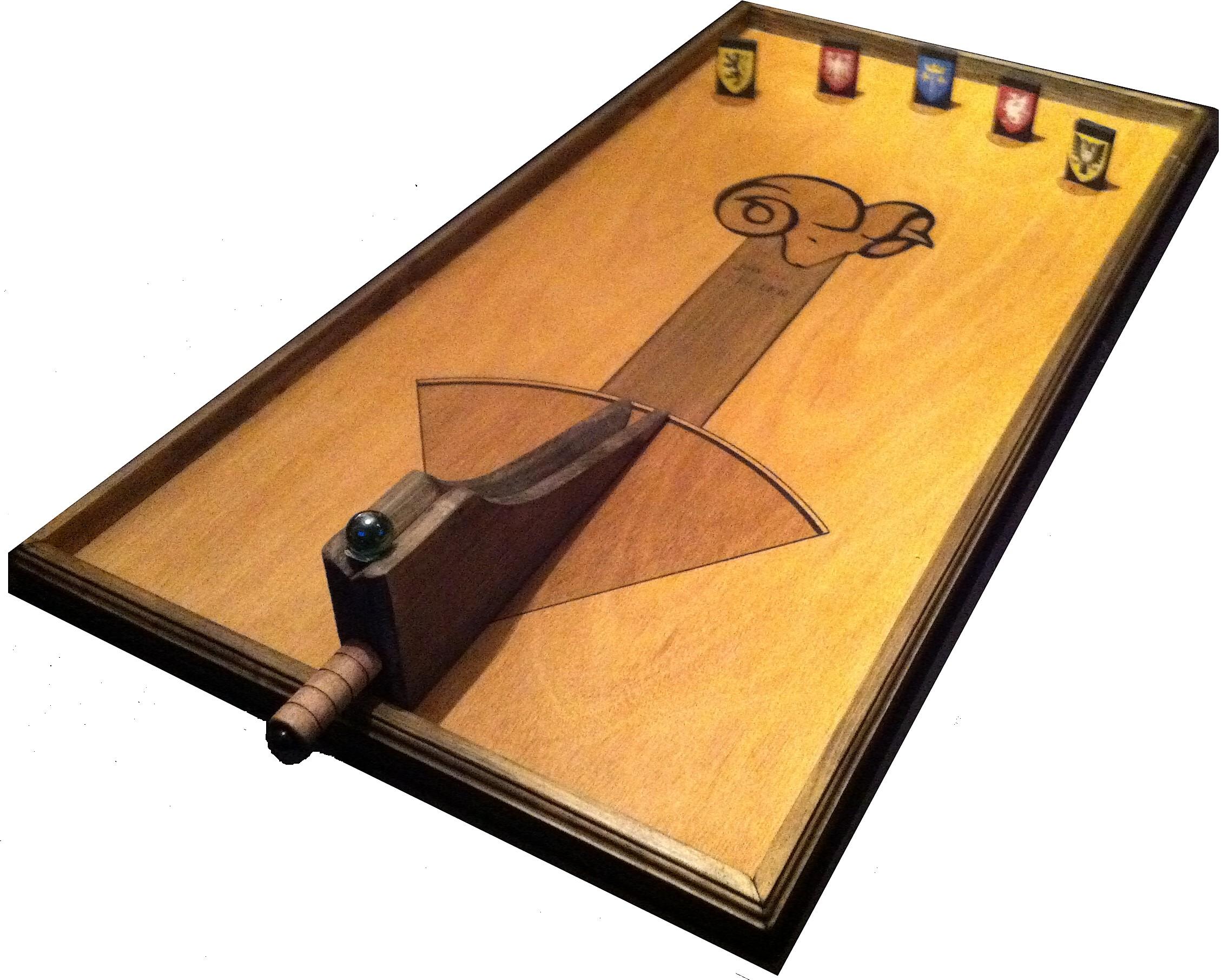 billard-belier jeux en bois fabuleuse famiy compagnie