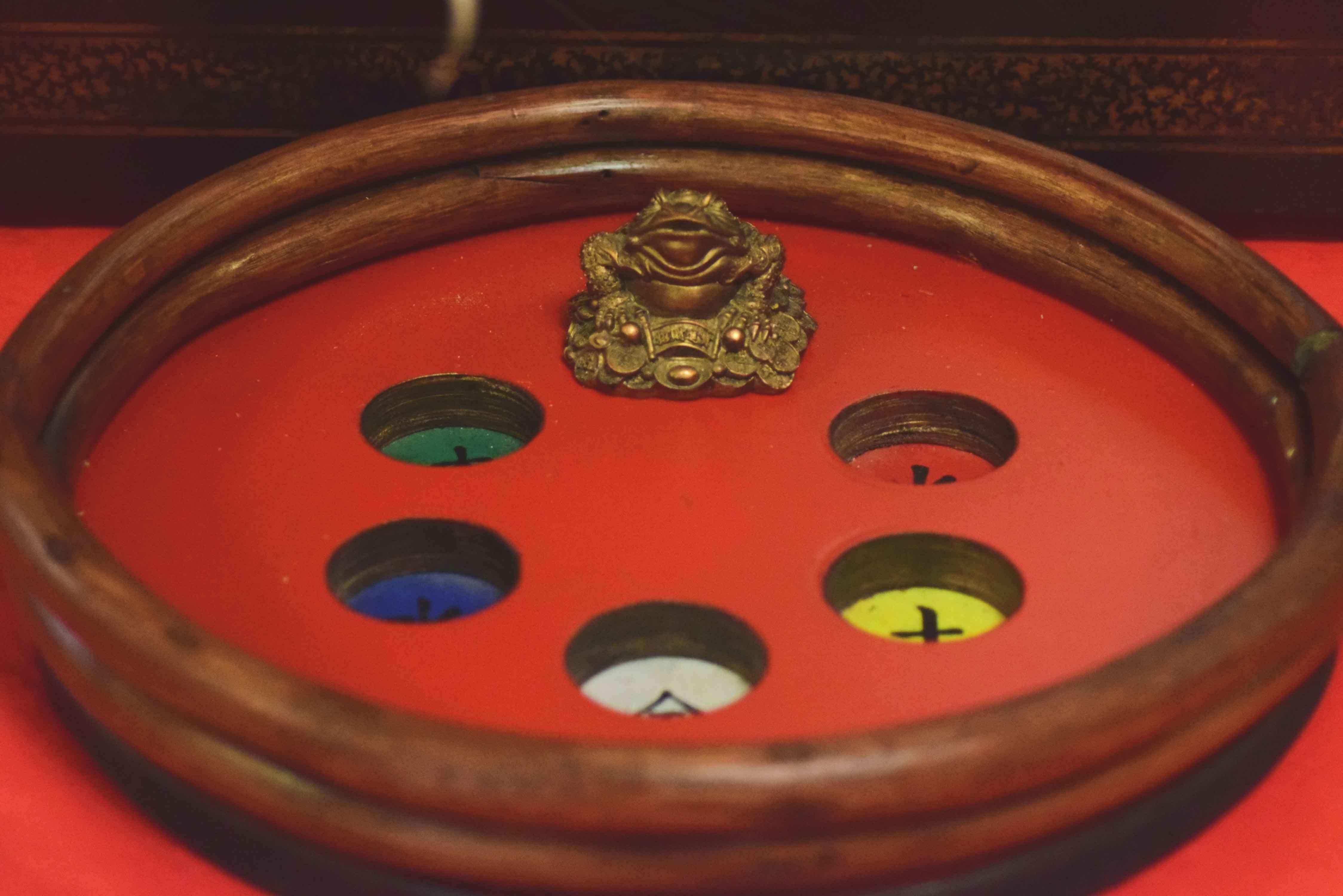 Jeux en bois asie