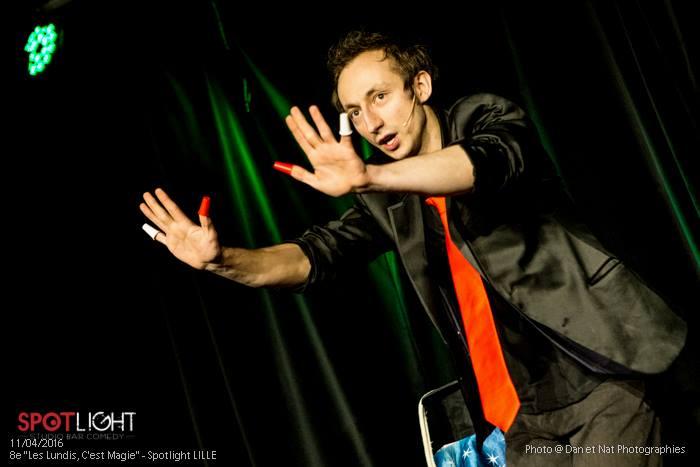 Cyril cartel magicien