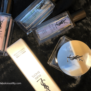 Loving my skin with Yves Saint Laurent Pure Shots