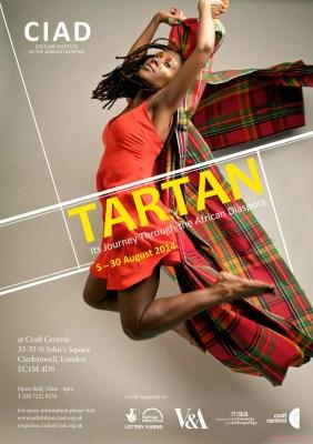 CIAD Tartan exhibiton - poster image