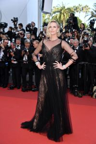 CANNES, FRANCE - MAY 23: Charlize Theron attends the 70th Anniversary screening during the 70th annual Cannes Film Festival in Cannes, France on May 23, 2017. Philip Rock / Anadolu Agency