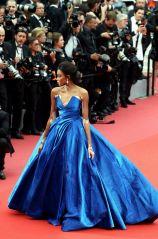 """Winnie Harlow - Montée des marches du film """"Nelyubov"""" (Loveless) lors du 70ème Festival International du Film de Cannes. Le 18 mai 2017. © Borde-Jacovides-Moreau/Bestimage Red carpet for the movie """"Nelyubov"""" (Loveless) during the 70th Cannes International Film festival. On may 18th 2017"""