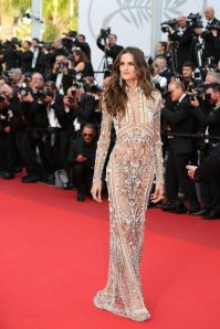 Izabel Goulart attends the 'The Beguiled' screening during the 70th annual Cannes Film Festival at Palais des Festivals on May 24, 2017 in Cannes, France. Photo by Shootpix/ABACAPRESS.COM