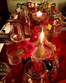 Table Christmas setting example 2