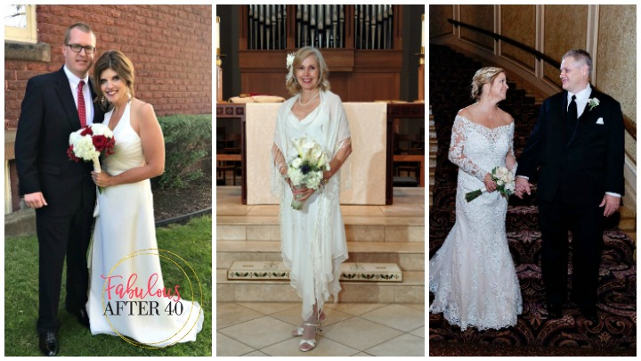Real-Life Wedding Dresses For Older Brides, Second Weddings