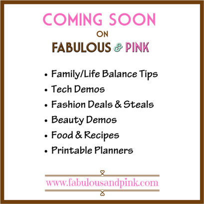 Coming Soon on F & P
