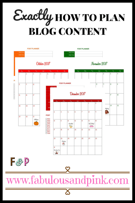 Exactly How to Plan Blog Content