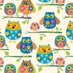Flower Owls