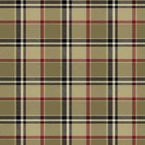 London Plaid Camel