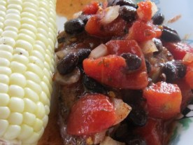 steak and black bean salsa - BBQ Potato Salad (4)