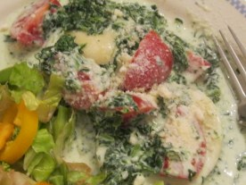 Creamy Spinach Ravioli (1)