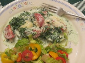 Creamy Spinach Ravioli (2)