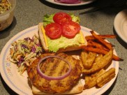 Tuna Burgers and steamed slaw (12)