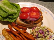 Tuna Burgers and steamed slaw (14)