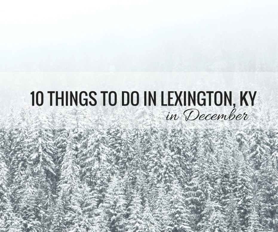 10 things to do in lexington, ky winter