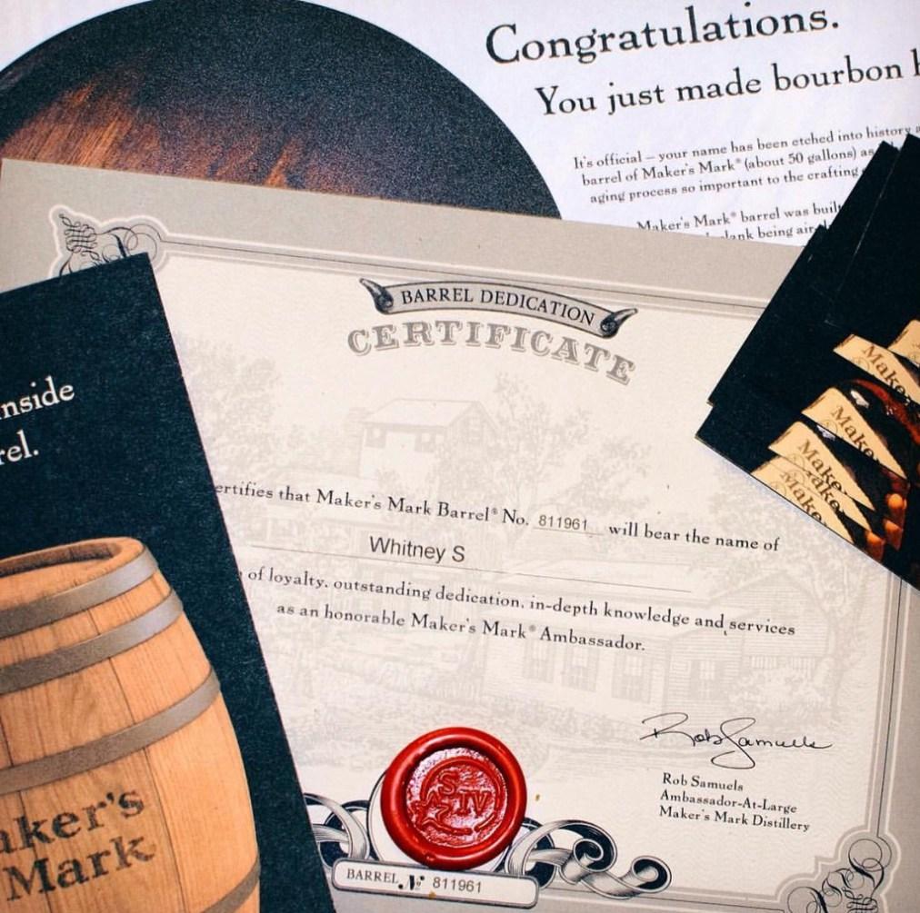 maker's mark ambassador packet