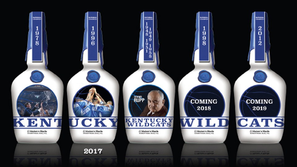 UK Maker's Mark bottles