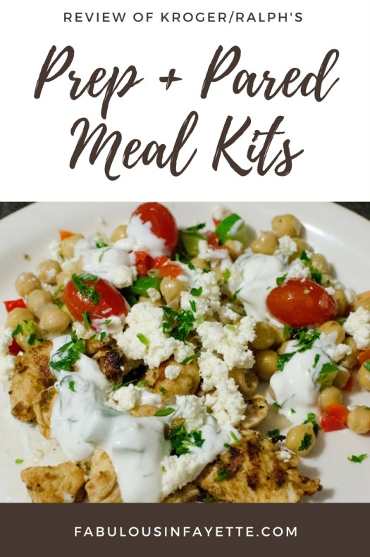 Did you know that Kroger and Ralph's have a brand spankin' new product to take the fuss out of dinner? This Prep + Pared meal kits come pre-prepared and pre-measured, so the only thing you have to do is assemble and cook. Plus, they are delicious and super affordable!