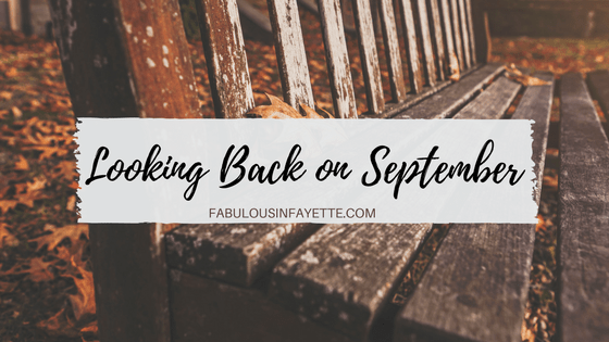 Looking Back on September