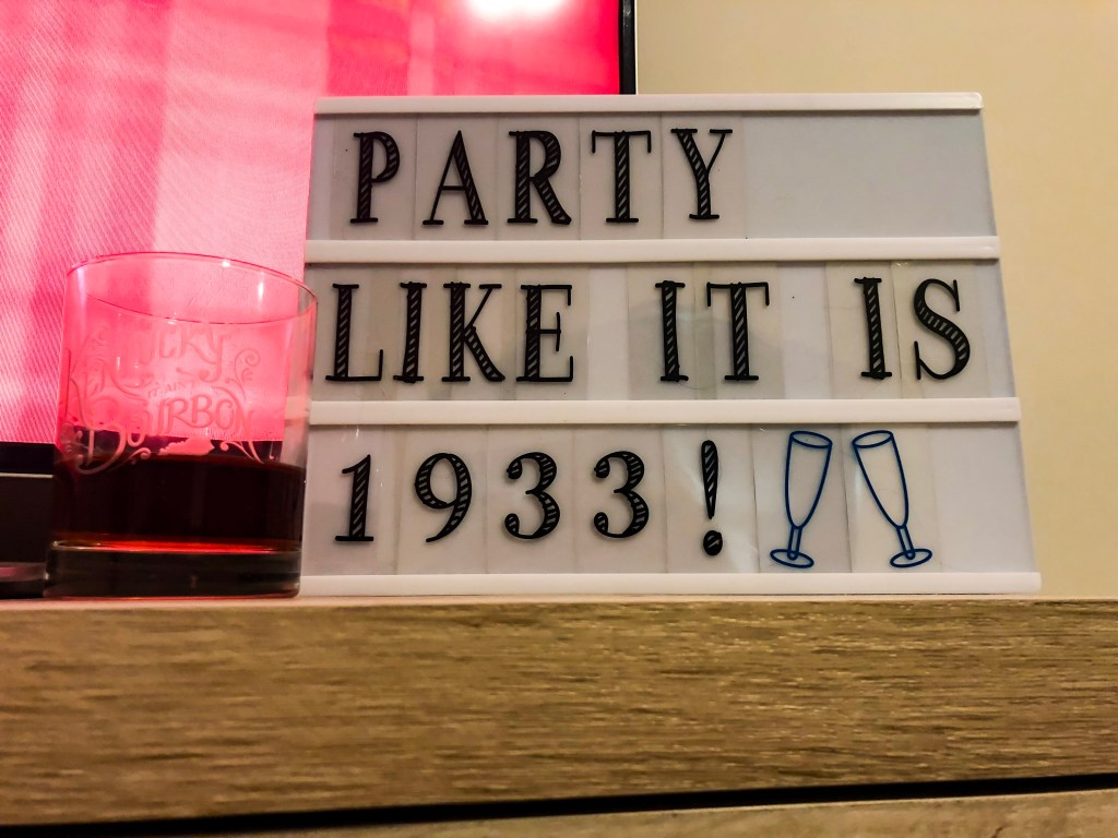 party like it's 1933