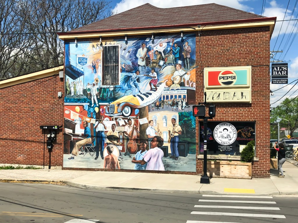 Lexington, Kentucky is home to many beautiful pieces of creative and interesting street art. There are many murals downtown, but there are also many others located throughout the city. You just have to know where to look! The murals are not only created by talented artists (some are even world renowned), but some are created by anonymous painters. #sharethelex #lexingtonky #kentucky #art #streetart #mural #legalgraffiti #colorful #visitlex #travelky