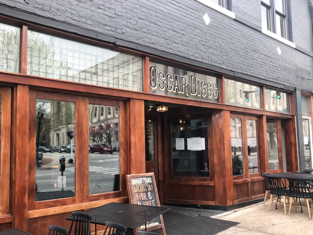 Oscar Diggs is a brand new restaurant that opened January of this year and is located on Restaurant Row in downtown Lexington. It's the newest gastropub to open in Central Kentucky. Oscar Diggs is the brainchild of Ralph Quillin's Rooster Brewing (which is located in Paris, Kentucky) and the Gastro Gnomes food truck guys, Andrew Suthers and Kyle Klatka. They've since parked the food truck and now are operating as a brick and mortar. #sharethelex #lexingtonky #kentucky #eatlexington #eatkentucky #visitlex #travelky #shoplocal #gastropub