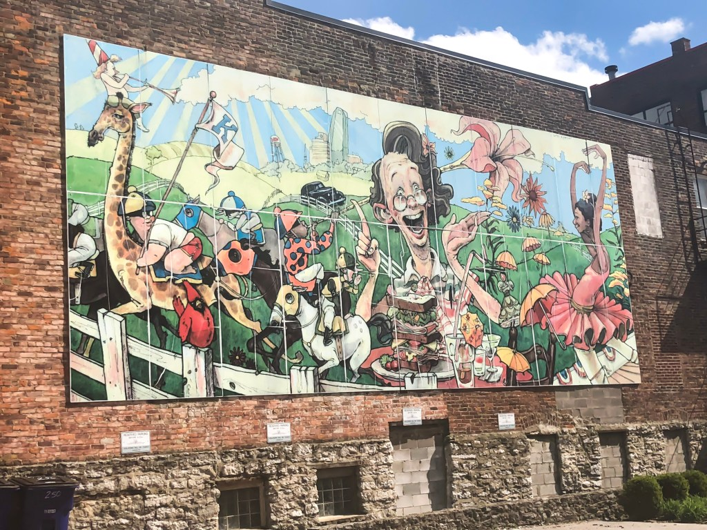 Street Art and Murals of Lexington, Kentucky: Volume II. You may remember earlier this week when I posted Street Art and Murals of Lexington, Kentucky: Volume I, which included twenty murals and their locations. Today is the second installment, where I highlight another sixteen murals and where to find them. #sharethelex #lexingtonky #kentucky #streetart #mural #legalgraffiti #visitlex #travelky