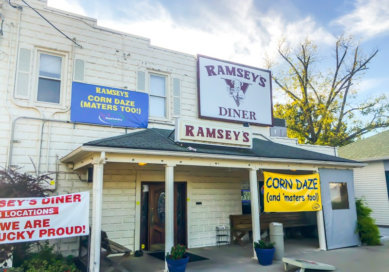 """Ramsey's is such an iconic Lexington restaurant for Southern fare. It's been a Lexington staple for almost 30 years. Between the """"meat and three"""" and Missy's Pies, you won't leave hungry and it will leave you wanting to come back again and again. Ramsey's and Missy's Pies are both Kentucky Proud. #sharethelex #lexingtonky #visitlex #travelky #betterinthebluegrass #tasteky #food #south #local"""