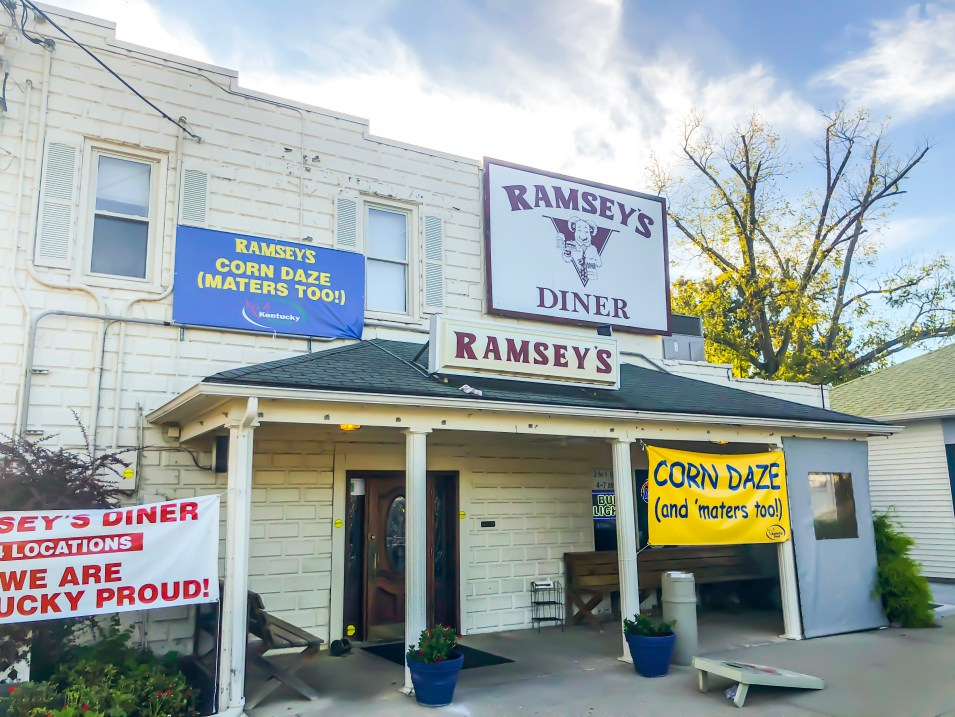 "Ramsey's is such an iconic Lexington restaurant for Southern fare. It's been a Lexington staple for almost 30 years. Between the ""meat and three"" and Missy's Pies, you won't leave hungry and it will leave you wanting to come back again and again. Ramsey's and Missy's Pies are both Kentucky Proud. #sharethelex #lexingtonky #visitlex #travelky #betterinthebluegrass #tasteky #food #south #local"
