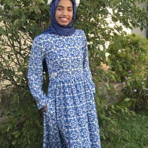 Moroccan Print Princess Dress