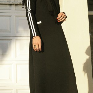 Black Sportsluxe Dress