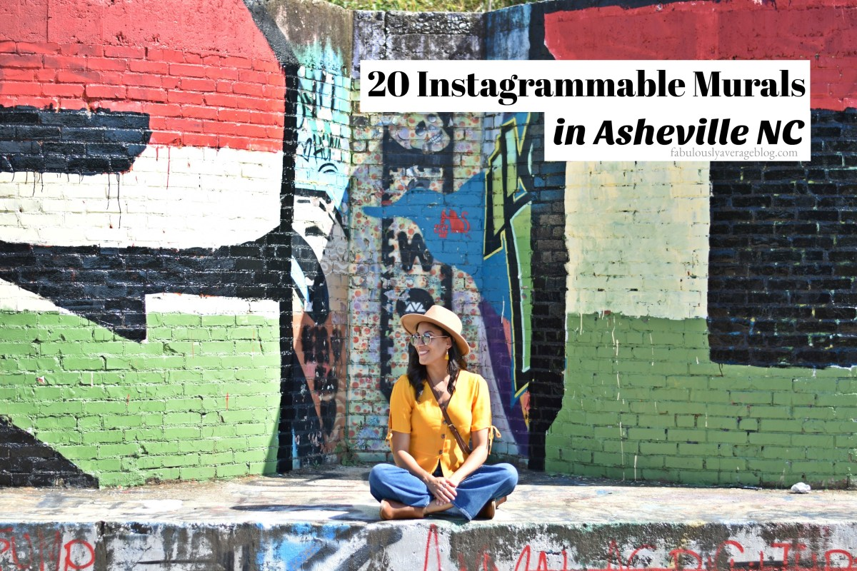 20 Instagrammable Murals in Asheville NC