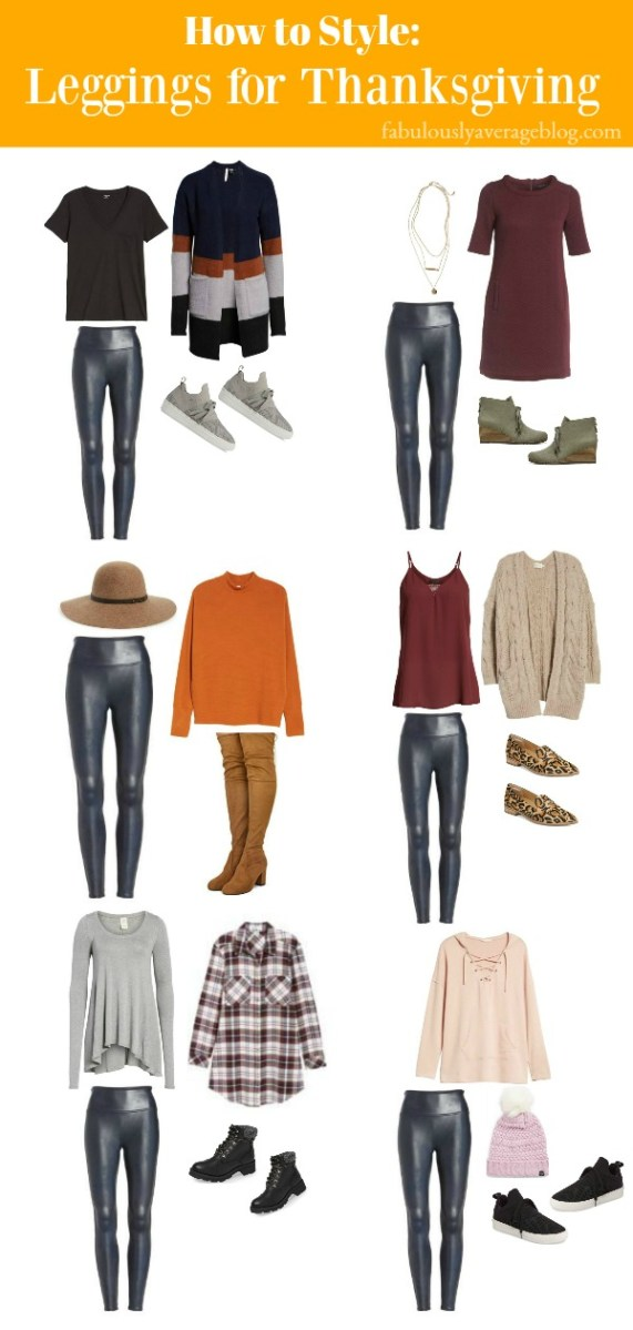 How to Style: Leggings for Thanksgiving